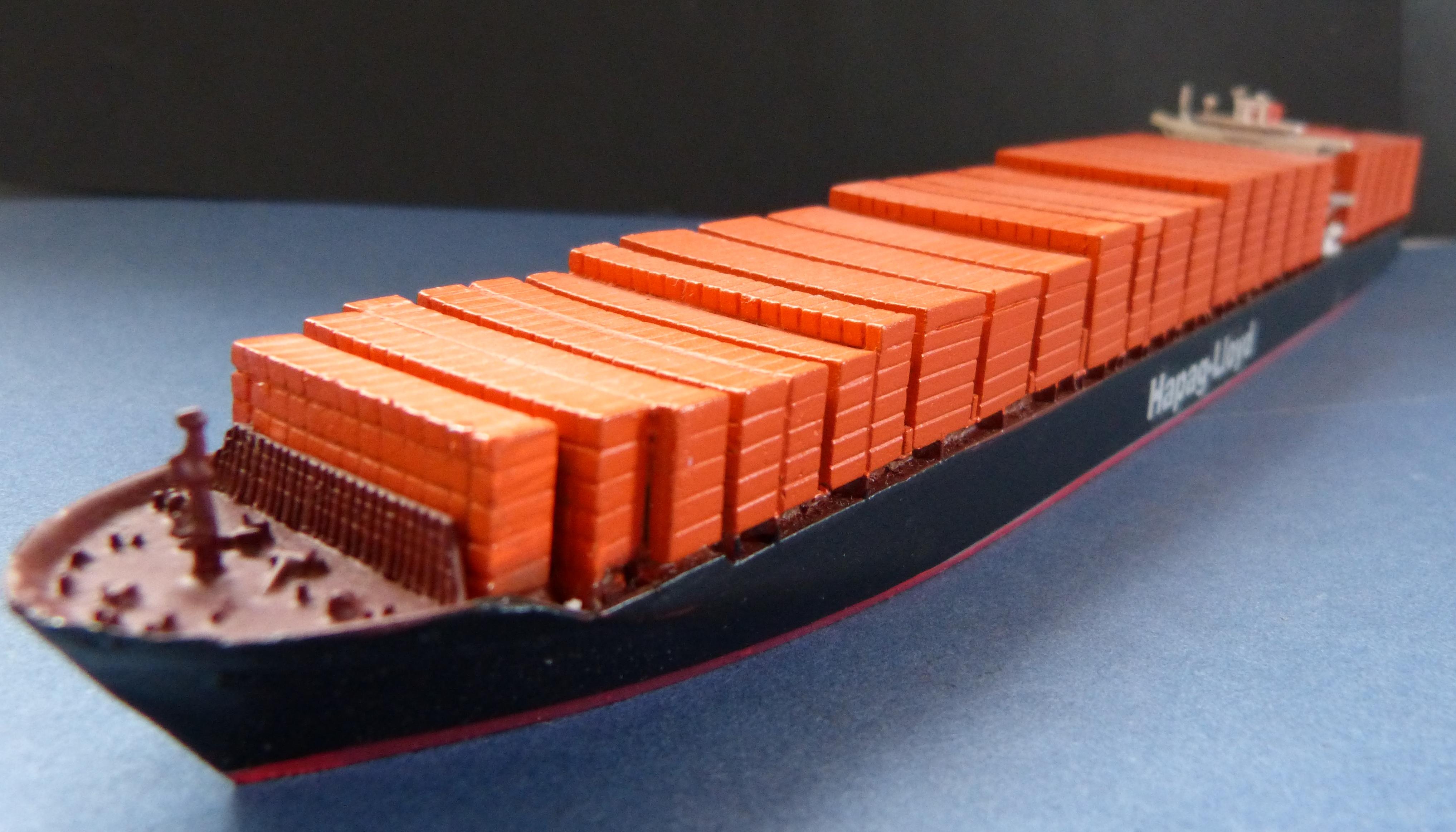 50 Cm Ca Schiffsmodell Containerschiff Hapag Lloyd