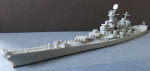 Ship Model US Navy Battleship New Jersey !
