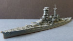 Ship Model Japanese Second World War Battleship Kirishima !