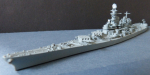 Ship Model US Navy Battleship Iowa , Scale 1:1250  !
