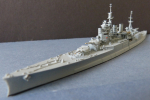 Ship Model Royal Navy Second World War Battlecruiser Renown !