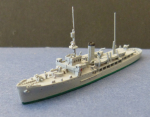 Ship Model Norwegian Fishery Protecting Ship Fridtjof Nansen , 1:1250 !