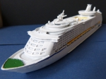 Ship Model Passenger Ship / Cruise Liner Voyager of the Seas - 1 : 1250 !