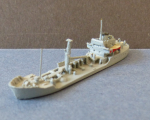 Model of the german Navy Special Ship Förde - Scale 1:1250 !
